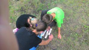 VDC vaikų užsiėmimai lauke