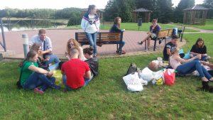 AJE jaunimo išvyka į Trakus